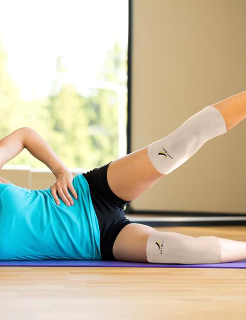 Uptofit® Copper Knee Sleeve - Everyday Activities - Moderate Support   NeoAllySports.com