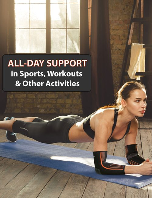 NeoAlly® Compression Elbow Sleeves - Workouts, Everyday Activities | NeoAllySports.com