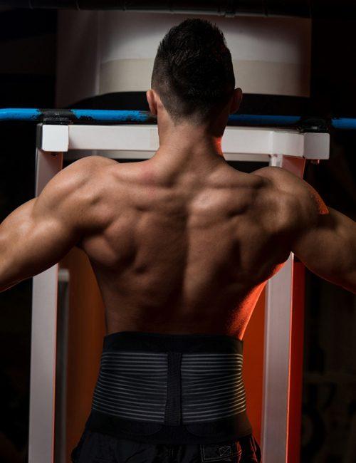 AllyFlex Sports® Men's Back Brace - Workouts | NeoAllySports.com
