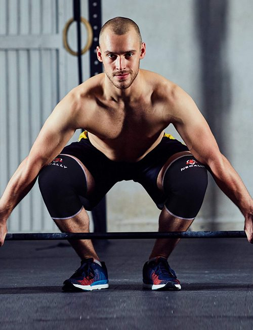 NeoAlly® High Strength Compression Knee Sleeves - Weightlifting | NeoAllySports.com