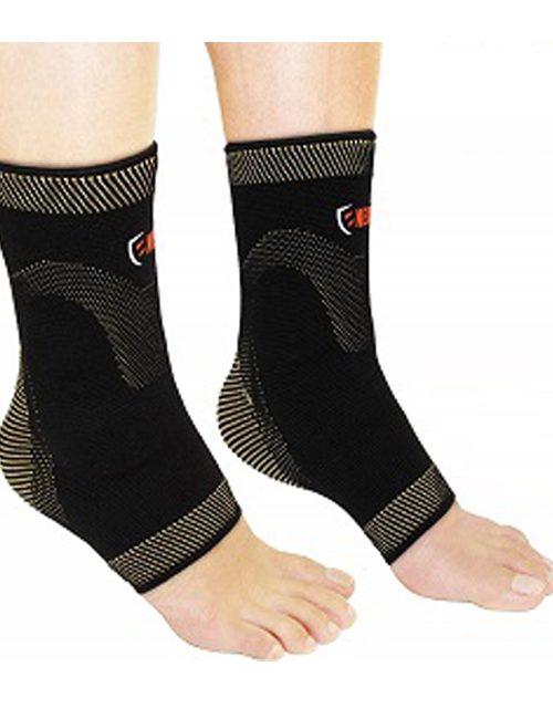 NeoAlly® Copper Gel-Padded Ankle Sleeves | NeoAllySports.com